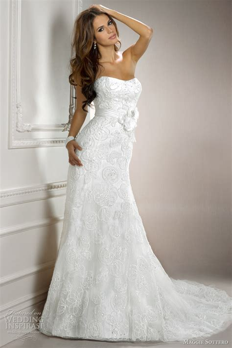 wedding gown with maggie sottero wedding dresses 2012 symphony collection