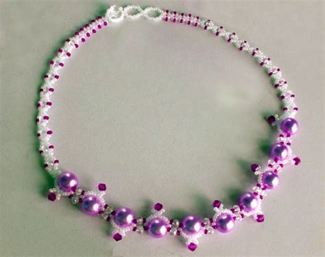 beaded chains patterns best 25 beaded necklace patterns ideas only on