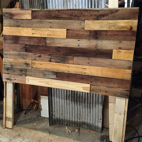 how to make a headboard out of wood best 25 diy headboard wood ideas only on barn