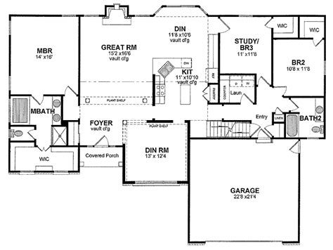 traditional house plans one story cottage house plans