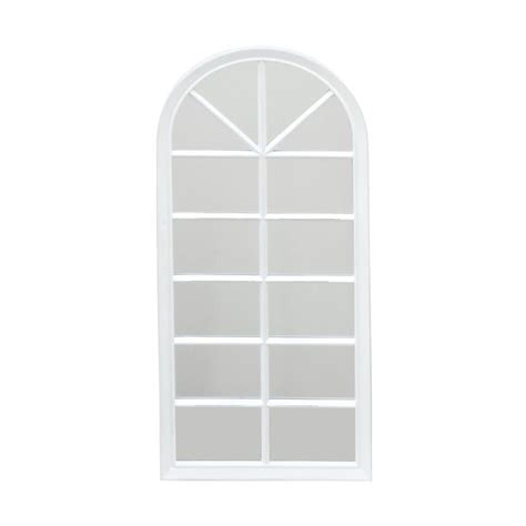 home decorators mirror home decorators collection white framed wall