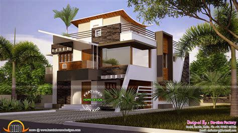 new home designs ultra modern floor plan of ultra modern house kerala home design