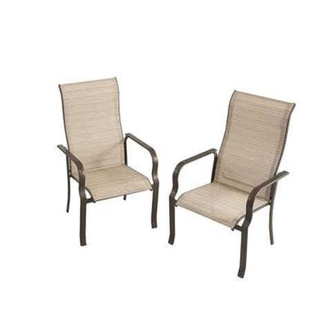home depot patio chairs martha stewart living cardona patio dining chair set of 2