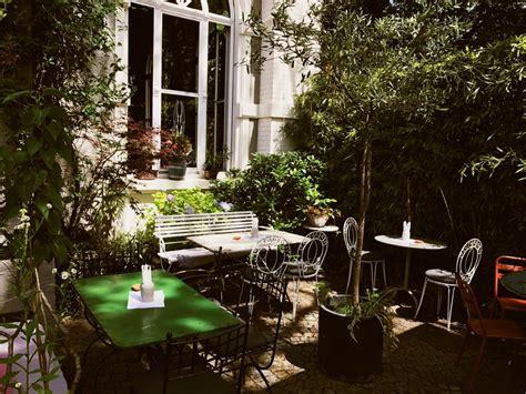 Der Garten Cafe by Mittagstisch Auf Der Garten Terrasse Haus Zauberfl 246 Te