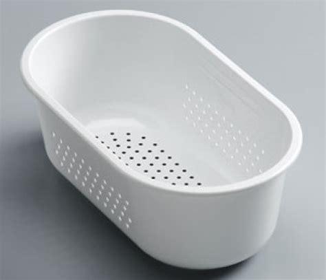 kitchen sink strainer bowl franke compact cp651sb strainer bowl