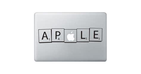 Scrabble Macbook Decal Kongdecals Macbook Decals