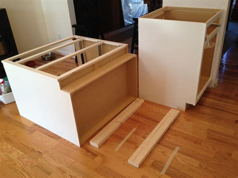 how to install kitchen island cabinets can my floor support kitchen island home improvement stack exchange