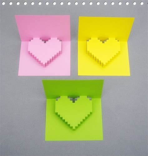 how to make 3d greeting card how to make 3d shape greeting card