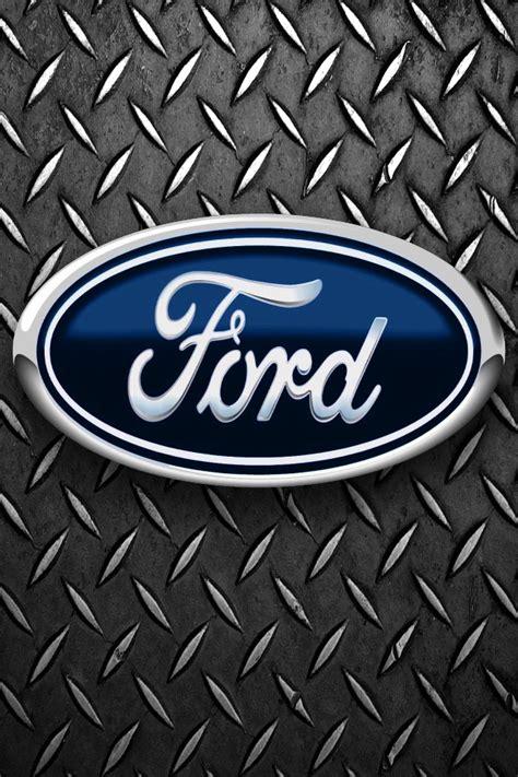 Car Logo Iphone 5 Wallpaper by Ford Iphone Wallpaper Wallpapersafari