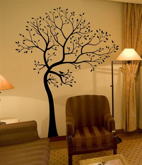 decals by digiflare large big tree bird wall decaldeco sticker mural