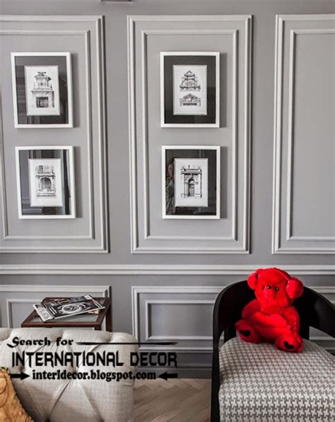 wall molding decorative wall molding or wall moulding designs ideas
