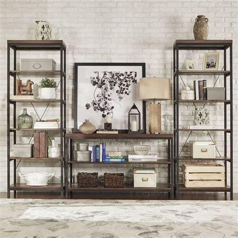 rustic bookshelves furniture best 20 rustic bookshelf ideas on bookshelf