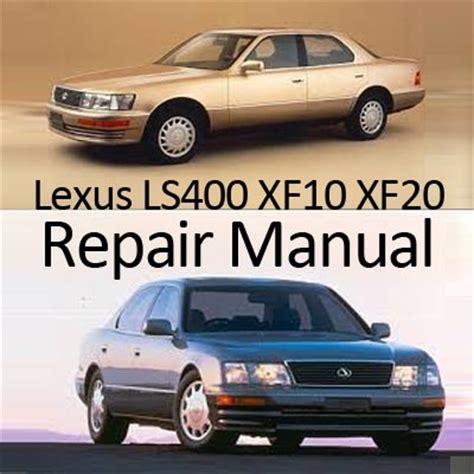 car repair manuals download 1996 lexus ls electronic toll collection lexus ls400 xf10 1990 1994 repair manual