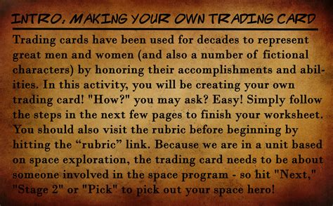 how to make your own trading card introduction make your own trading card