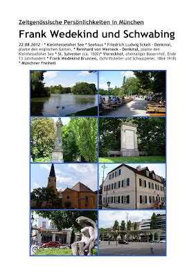 Englischer Garten München Livecam by M 252 Nchner Spazierg 228 Nge Frank Wedekind Und Schwabing