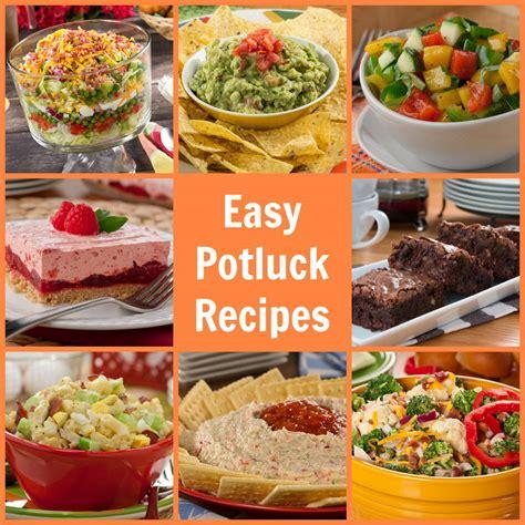 easy food easy potluck recipes 58 potluck ideas mrfood