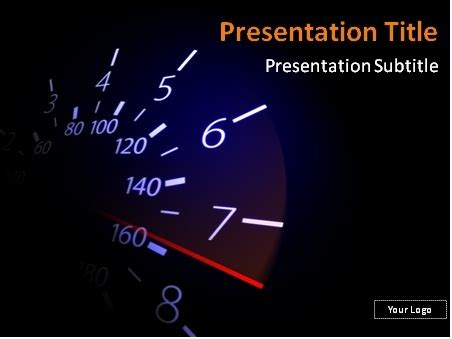 download free speedometer with red needle powerpoint