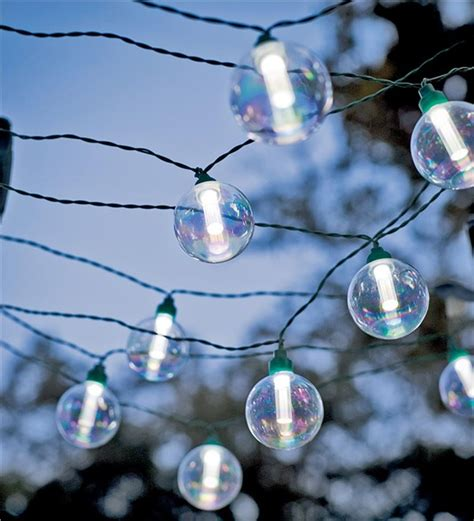 solar globe string lights solar powered globe string lights for outdoor entertaining