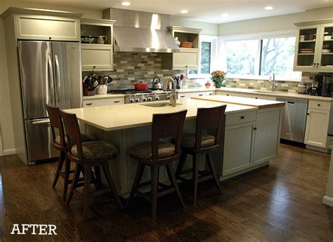 Make A Kitchen Island 6 dramatic kitchen makeovers hooked on houses