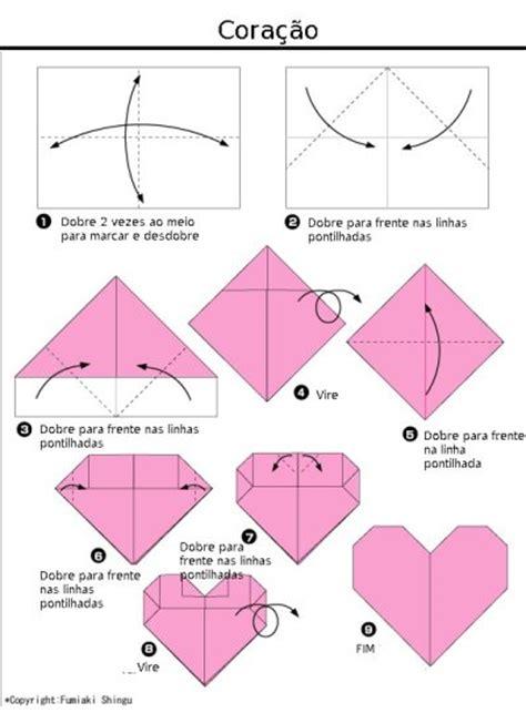origami os como fazer um origami de cora 231 227 o mundinho da crian 231 a