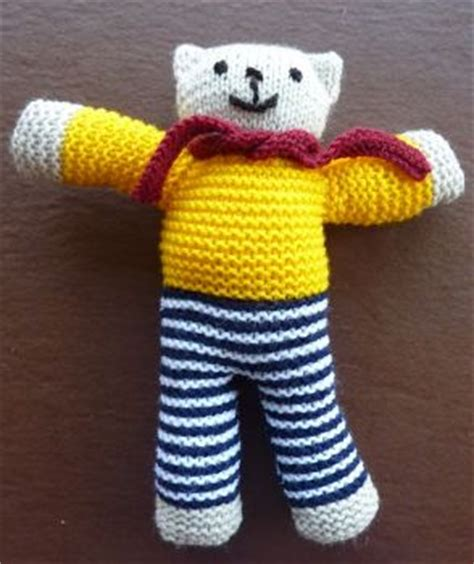 how to knit a simple teddy the rotary club of lutterworth district 1070