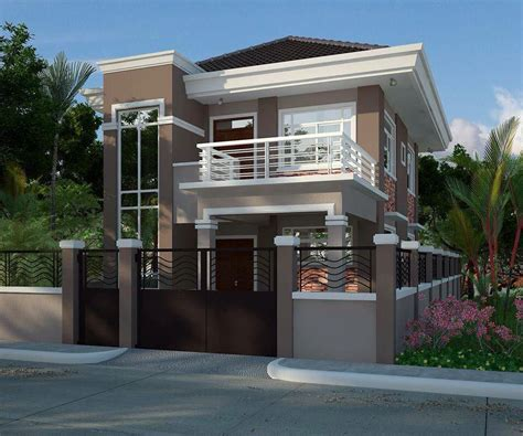 house plans with balcony splendid modern residential house with balcony amazing architecture magazine