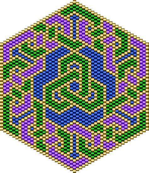 celtic bead patterns celtic lover s knot bead pattern craft ideas