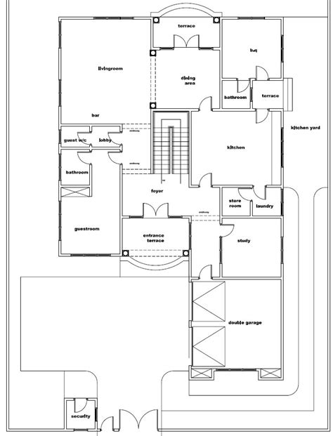 ground floor plans house house plans naa house plan