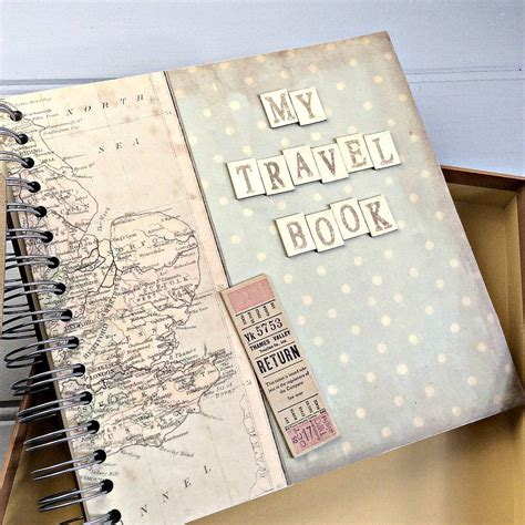 picture books about travel personalised my travel book keepsake journal by the