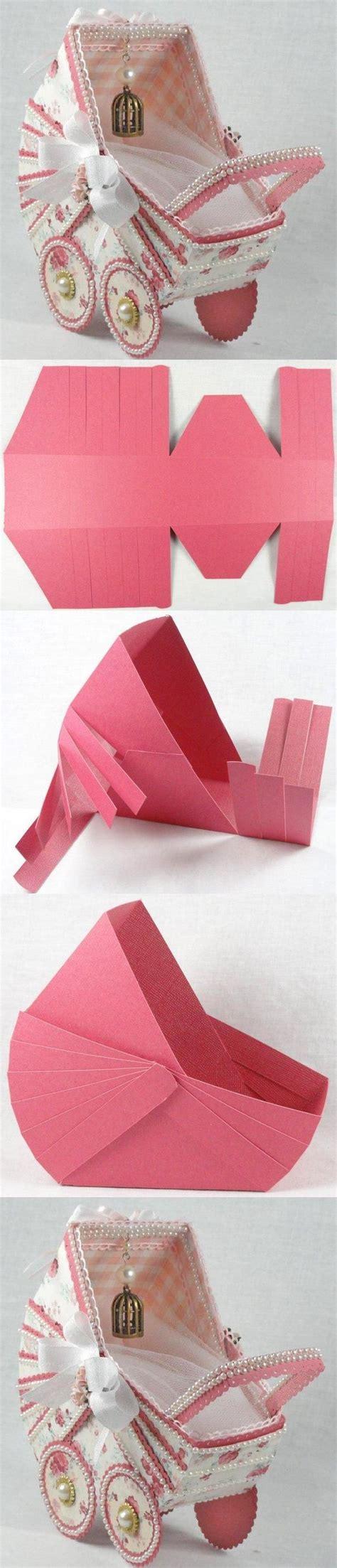 paper craft tutorials diy paper stroller diy projects usefuldiy