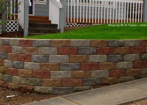 garden walls blocks how do you like this garden landscape block wall