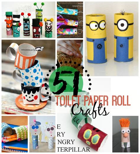 crafts to do with toilet paper rolls 51 toilet paper roll crafts do small things with