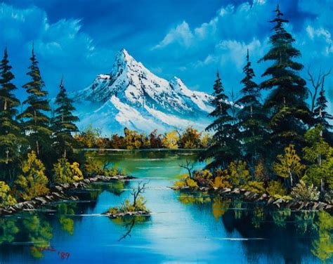 bob ross paintings for sale bob ross reflections of fall painting for sale