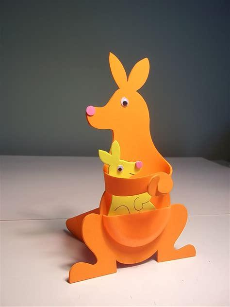 kangaroo craft for k is for kangaroo craft kit