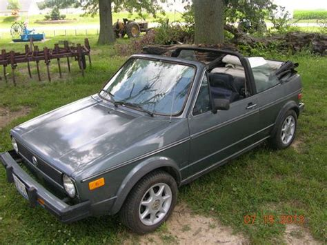 how cars work for dummies 1985 volkswagen cabriolet security system buy used 1985 volkswagen cabriolet convertible in smithton illinois united states for us