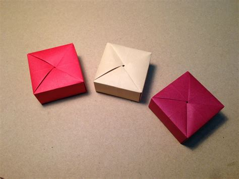 easy origami gift box origami gift box with one sheet of paper funnycat tv
