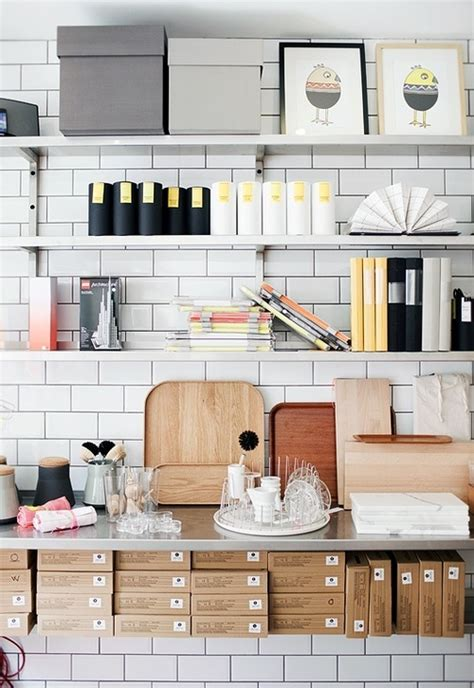 kitchen office organization ideas 43 cool and thoughtful home office storage ideas digsdigs
