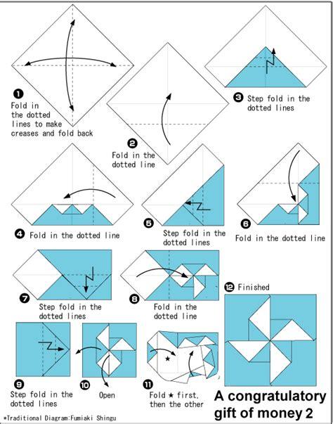 origami wind mill origami windmill envelope diagram origami