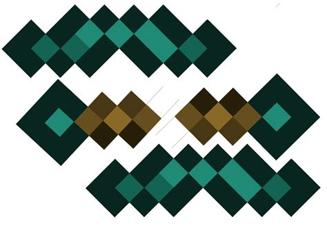 origami minecraft pickaxe free minecraft pickaxe coloring pages