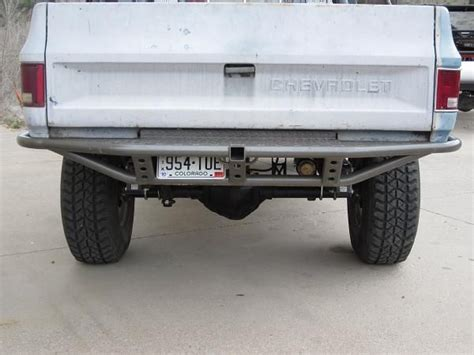 custom front and rear bumpers for s10 blazers blazer 17 best images about 73 k5 project on portal