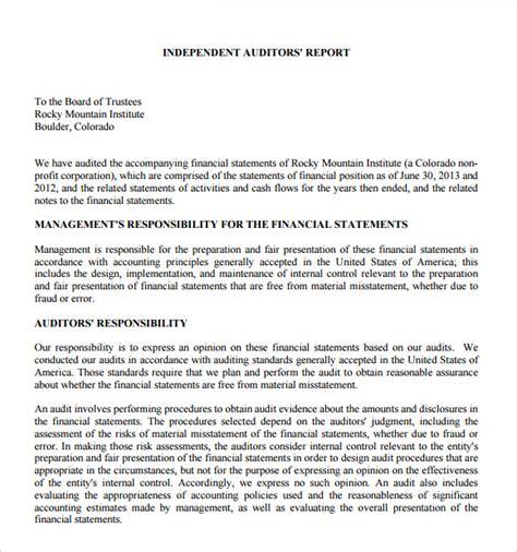 blank award templates 37 brilliant audit report format examples thogati