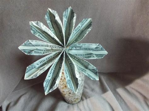 origami dollar flower money flowers for graduation gnewsinfo