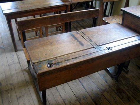 my school desk school desk complete with inkwell i was an ink monitor my