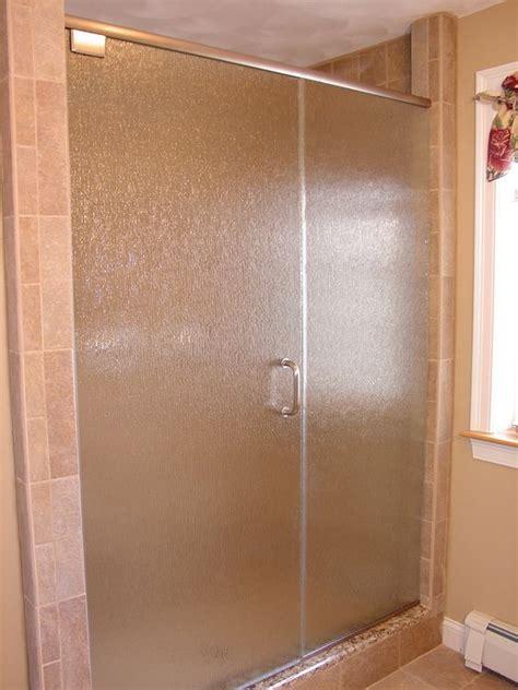 opaque shower doors 15 chic glass home d 233 cor ideas shelterness