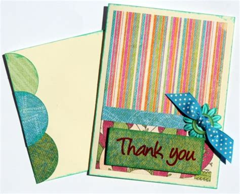 thank you card kits scraptique thank you card kit scraptique inc