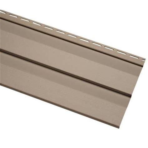 home depot paint vinyl siding cellwood evolutions 4 5 in khaki vinyl