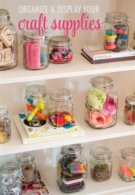 craft supplies for organize your craft supplies the chic site