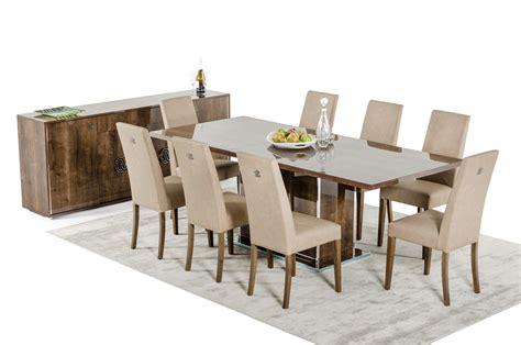 dining room sets modern modrest athen italian modern dining set