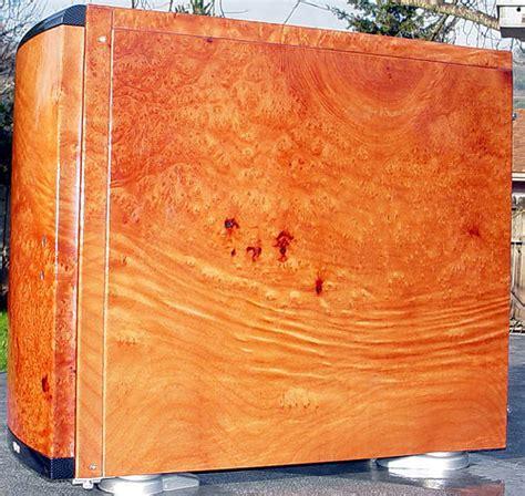 madrone woodwork madrone burl wood lien li pc6070 silent aluminum mid