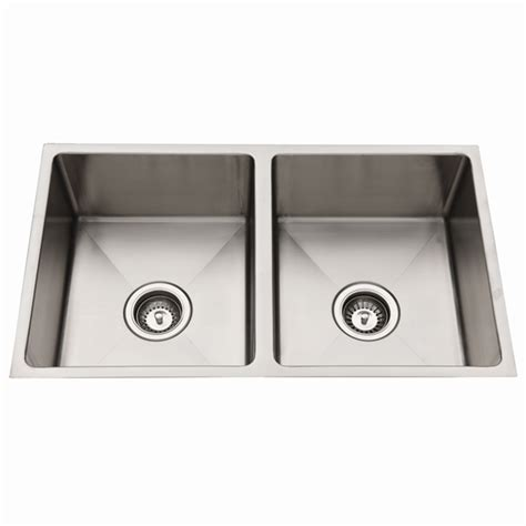 squareline 1080 kitchen sink with squareline 760mm bowl stainless steel undermount
